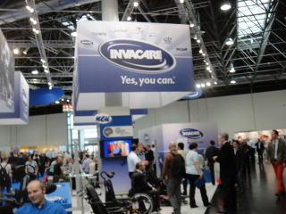 介護用品・在宅医療機器などの総合商社「インバケア社」 ヨーロッパ、アメリカで事業展開をしています。