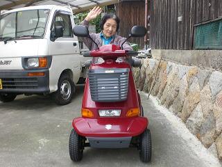 大阪府 T.F様(スズキ セニアカーET-4D)