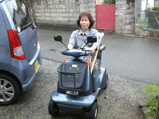 大阪府 M.T様(スズキ セニアカーET-4A)