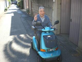 大阪府 S.A様(スズキ セニアカーET-4D)