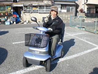 兵庫県 N.M様(スズキ セニアカーET4A)