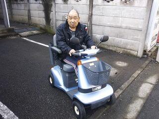 神奈川県 A.M様(スズキ セニアカーET4A)