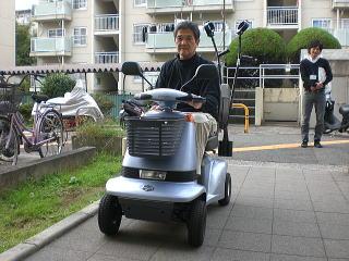 大阪府 N.I様(スズキ セニアカーET-4A)