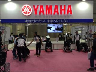 ヤマハさんは新商品「JWアクティブPLUS+」を展示されていました。  弊社も10月から取り扱いを始めました!