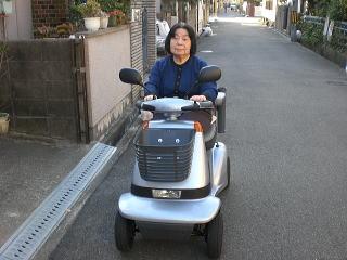 大阪府 F.K様(スズキ セニアカーET-4A)