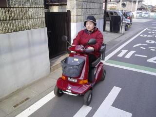 埼玉県 I . I様(スズキ セニアカーET-4D6)