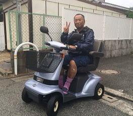 大阪府 S.K様(スズキ セニアカーET4A)