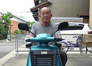 愛知県 S.K様(スズキ セニアカーET-4D6)