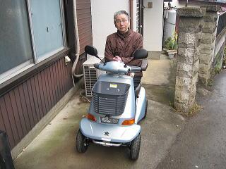 埼玉県 T.Y様(スズキ セニアカーET-4D6)